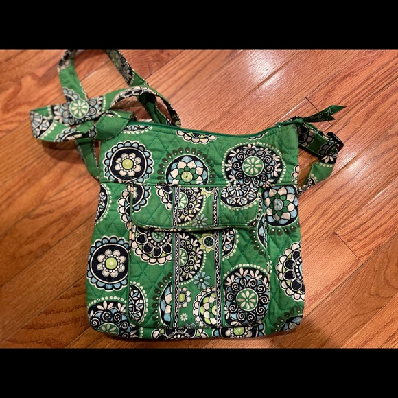 Vera Bradley Retired Cupcake Crossbody Bag